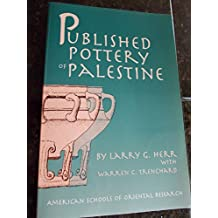 Published Pottery of Palestine (ASOR Books)