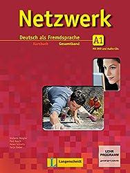 Netzwerk A1  - Kursbuch mit 2 Audio-CDs und DVD : Deutsch als Fremdsprache