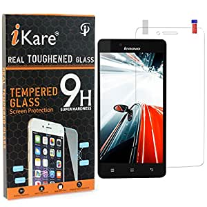 A6000 Tempered Glass, iKare 2.5D 9H Tempered Screen Protector for Lenovo A6000