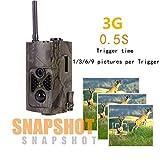 TLgf Trailkamera HC550G Jagdkamera Wald im Freien wasserdicht HD MMS Überwachungskamera Wildtierjagd und Haussicherheitsmonitor