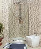 Dusche Duschkabine 75x 75–Kristall 6mm transparent