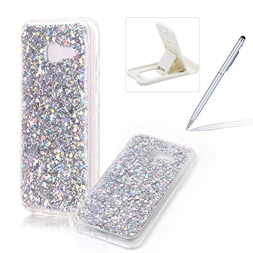 for-samsung-galaxy-a5-2017-rubber-tpu-caseherzzer-ultra-thin-slim-lightweight-color-changing-glitter
