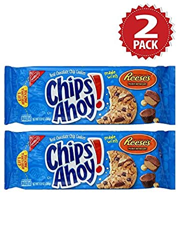 Cookies Chips Ahoy Chocolate Chip with Reese's - Set de 2 (2x269g)
