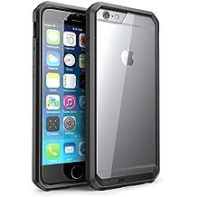 iPhone 6Plus caso, híbrido SUPCASE Unicorn Beetle Premium * * * * Para Apple iPhone 6Plus transparente carcasa protectora para iphone 6Plus funda 5.5Pulgada (no fit iPhone 64.7pulgadas), Clear/Black/Black, iPhone 6 Plus