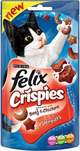 Felix Crispies Katze Behandelt Rind Und Huhn (45 G)