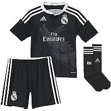 Equipación Infantil Real Madrid Champions 3ª 2014-15 5c3f00628fecd