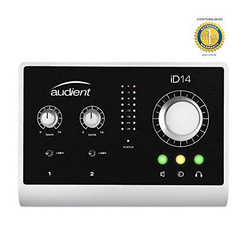 Audient iD14 10-in / 4-out USB Desktop Interfaccia Audio
