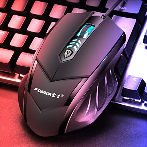 Professionelle Gaming-Maus mit 6 Tasten, einstellbare optische und leise, kabellose LED-Maus mit 2,4 GHz, kabellose optische Maus für Notebook, PC, Laptop, Computer, MacBook -
