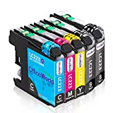 OfficeWorld Replacement for Brother LC223 Ink Cartridges Compatible for Brother DCP-J4120DW DCP-J562DW, MFC-J5320DW J880DW J5620DW J5625DW J680DW J4625DW J5720DW J4420DW J4620DW J480DW, 5 Pack