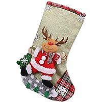 Möbel & Wohnaccessoires Weihnachten Milopon Nikolausstiefel Weihnachtsbaum Anhänger Geschenk Socken Tasche zum befüllen Weihnachtsstiefel für Kamin Nikolausstrumpf als Weihnachtsdeko