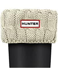 Hunter Cable De Puntada 6 Calcetines Blanco Natural