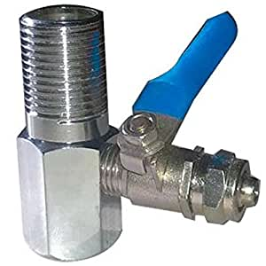 Shruti Brass RO Nozzle/Aqua Guard Valve Connector for RO/UV/Water Purifier/Water Filter Jointer - 1896
