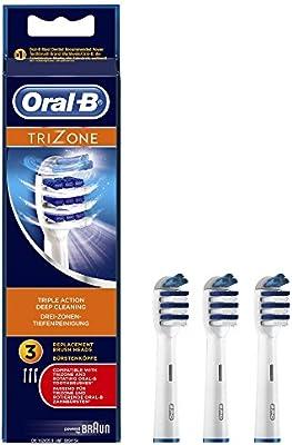 Oral-B TriZone - Pack de recambio para cepillo recargable
