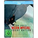 Mission Impossible Rogue Nation Blu ray Steelbook