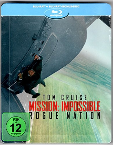 Mission Impossible Rogue Nation Blu ray Steelbook (Geprägt)