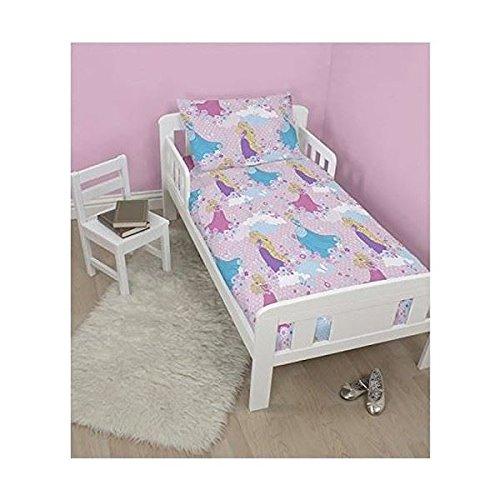 Unbekannt Nackenkissen für Kinder 4in 1-Paket für Kinderbett mit Kinder-Bettwäsche Quilt Jungen Mädchen, Disney Princess Dreams 3.5 Tog, Junior/Toddler/Cot Bed