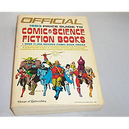 The Official price guide to comic & science fiction books