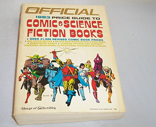 The Official price guide to comic & science fiction books par -