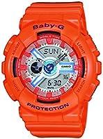 Casio Baby-G Damen Uhr Analog/Digital Quarz mit Resinarmband BA-110SN-4AER