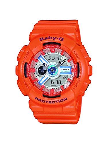 Baby-G Damen Armbanduhr BA-110SN-4AER (G-shock Baby-g Damen)