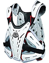 Protector De Pecho Mx Troy Lee Designs Shock Doctor Bg5900 Blanco (L , Blanco)