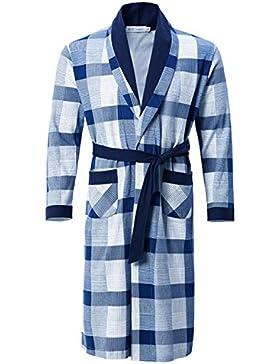 Pijama de hombre/Camisón cómodo de algodón/Otoño e invierno cálido albornoz Ropa de hogar