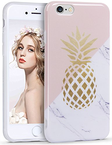 iPhone 6 6S Coque, TPU, Ananas, iphone/s