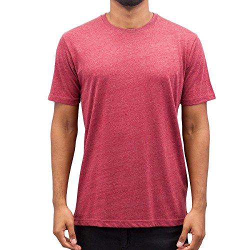Cyprime Herren Oberteile / T-Shirt Basic Rot