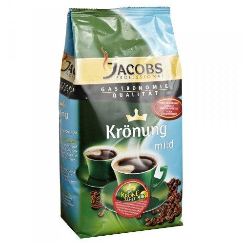 JACOBS Krönung Mild Kaffeepulver 1kg