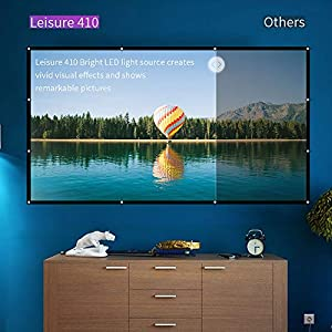 VANKYO-Leisure-410-Mini-Beamer-LED-Projektor-2500-Lumen-50000-Stunden-Heimkino-Beamer-Full-HD-1080P-untersttzt-Kompatibel-mit-Fire-TV-Stick-HDMI-VGA-USB-AV-TF-fr-Smartphone-Laptop