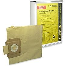 10x Bolsas de aspiradora papel Dimensión 28 para Alfatec | Alfa 500E | DeLonghi | XLE 800...900 | Electrolux / Lux | Bolero Z 5003, Z 2940...2950 Filio, ...