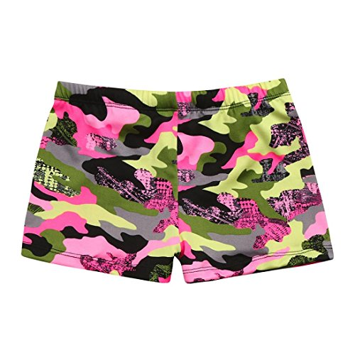DIKEWANG Newest Kids Baby Boys Camouflage Striped Stretch Beach Swimsuit Swimwear Trunks Shorts Pants,Perfect for Walking,Running,Gym,Swimming,Beach