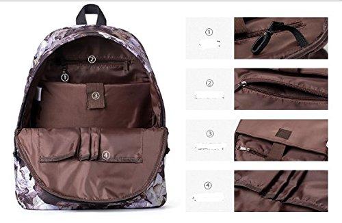 Grande capacit¨¤ borsa leggera computer , retro borsa della spalla di stampa-A A