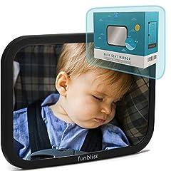 fürs Baby,Bruchsicherer Auto-Rückspiegel Babyschale