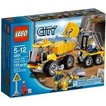 LEGO CITY 4201 Excavadora y Volquete