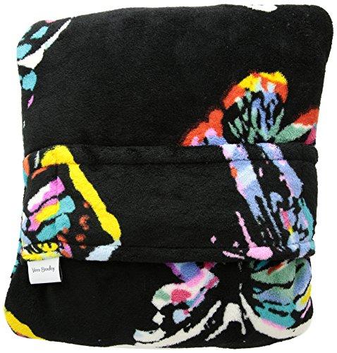 ravel Blanket, Fleece Reisedecke, Butterfly Flutter Black, Einheitsgröße ()