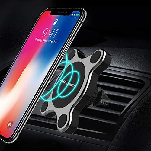 YSHtanj Kabelloses Kfz-Ladegerät, Innendekoration, 7,5 W, Qi, universal, kabellos, für iPhone und Samsung -