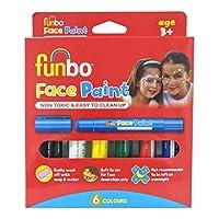 طلاء الوجه غير السام من فانبو 6 الوان