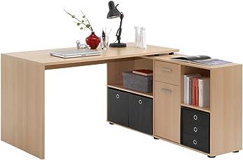 Unbekannt FMD Möbel Lex Schreibtisch-Winkelkombination