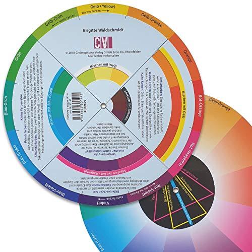 Die Künstler-Farbmischscheibe