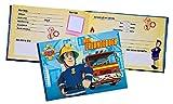 Freundebuch Feuwehrmann Sam ideal auch für die Vorschule im Kindergarten oder Schule