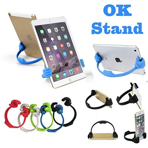 CABLESETC Universal Thumb OK Mobile Phone Tablet Car Desk Table Top Mount Stand Holder