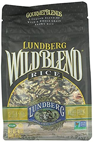 Lundberg Wild And Whole Grain Brown Rice - Wild Blend (16 Oz)