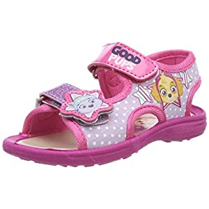 Leomil Fashion Girls Kids Classic Sandals And Mules, Sandali con Cinturino alla Caviglia Bambina