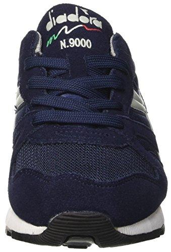 Diadora N9000 Y, Sneaker Basses Mixte Enfant Bleu (Blu Classico/grigio Grattaciel)