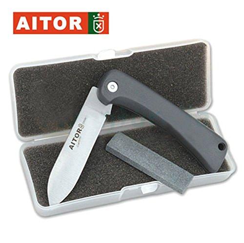 AITOR Navaja Acero Carbono Hoja de 9 cm. 16302