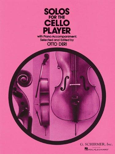 Solos For The Cello Player -For Cello & Piano- (Ed2313 (Deri)): Noten, Solostimme für Cello, Klavier