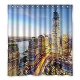 Dalliy New York City Costume Tenda Della Doccia Shower Curtain 167cm x 183cm