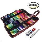 Feelily 72 Farben Aquarell Bleistift Set