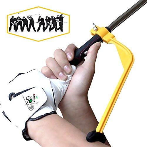 Golf Trainingshilfe Schwungtrainer - Werkzeuge zur Schwungkorrektur, zum Aufwärmen - « Swing Guide » - Verbessern sie Ihren Golfschwung Test